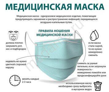 маска медицинская информация о использовании